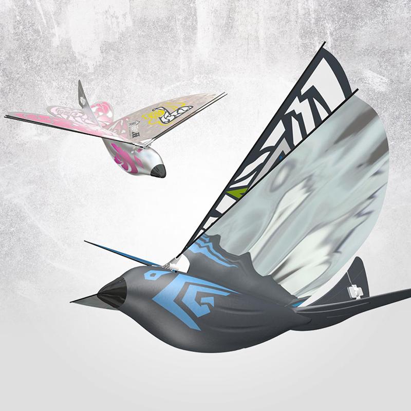 幻翼鸟1只手魔幻操控专利黑科技遥控飞鸟
